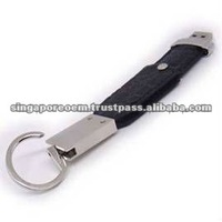 Key chain Leather Thumb Drive, Leather USB Flash Drive, Leather USB Gift