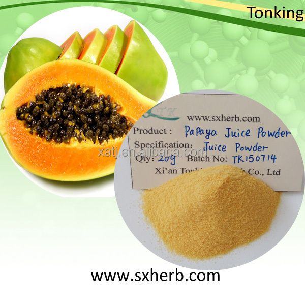 ISO Papaya Extract powder Papain for breast enhancement