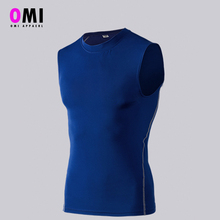 Polyester Men Sports Custom Running T Shirt,Sleeveless Gym Custom Tank Top Wholesale