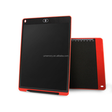 High Quality Lcd writing board 12 inch electronic writing Tablet - one touch clear - LCD ewriter for kids