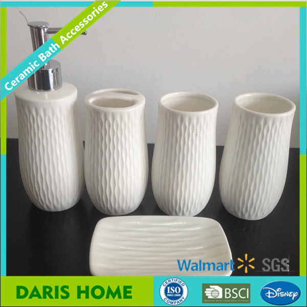 Special Printing Hotel Bath Accessories Textile