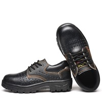 New arrival Zapatos De Seguridad industrial safety genuine leather men shoes