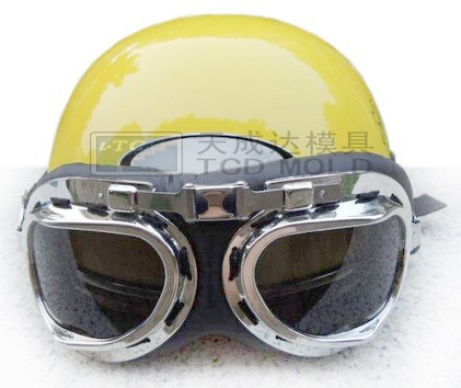 Cool design plastic lovely female motorcycle safety helmets