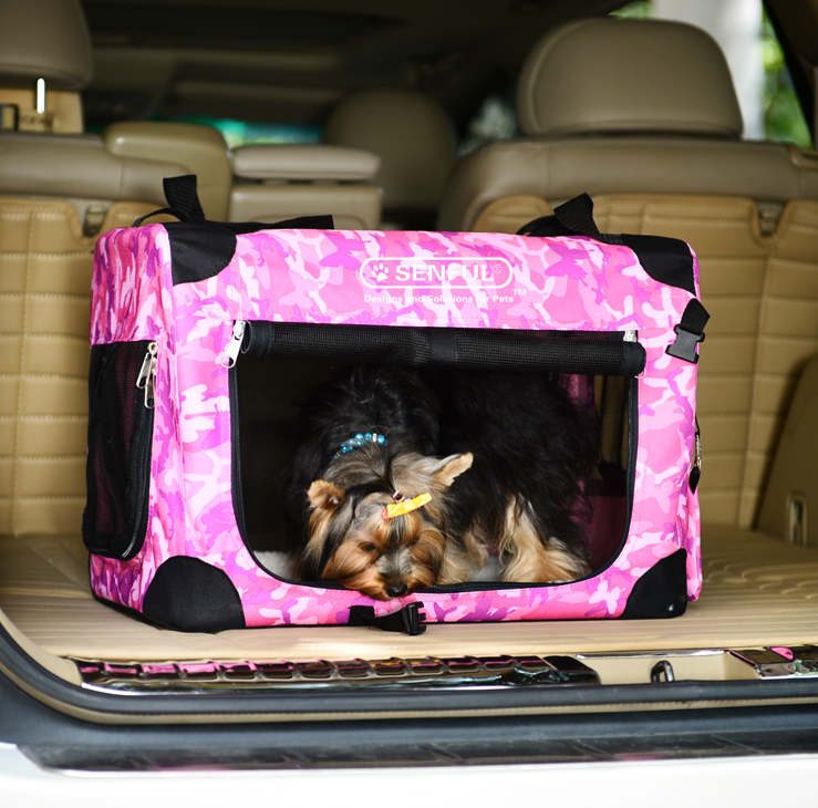 Lightweight and Portable Pet Soft Crate