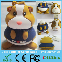 1gb Rabbit cartoon anime usb flash drive from gift usb factory