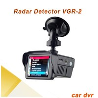 Russian Language HD 720p best radar detector with 2.5 screen best car speed radar detector