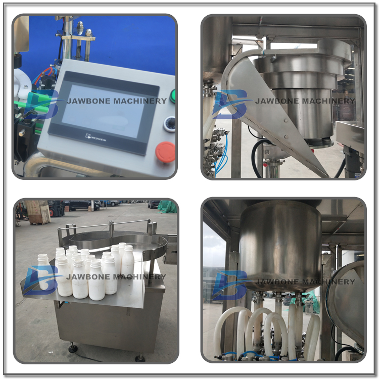 JB-YG4 automatic beverage bottle filling and capping machine