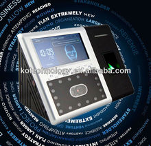 Biometric time clock Face /Fingerprint/RFID /Password Face camera access control system free software KO-FACE302
