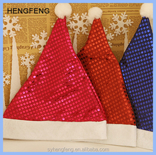 Wholesale cheap price adults and children Christmas Supplies Handmade Christmas Santa Hats