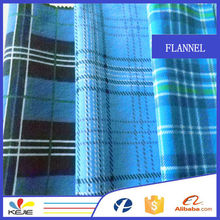Real Brushed Flannel Fabric Best Selling in Europe Women Shirt Fabric