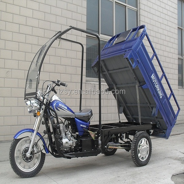 wholesale LZSY tricycle 5 wheel five wheeler gasoline cargo motosiklet passenger tricycles triciclos