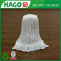 Hago free samples wholesales colorful plastic head wet cotton mop