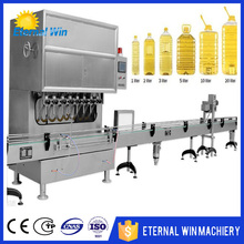 Full line oil filling machine coconut oil packing