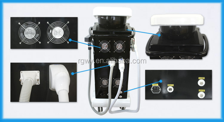 Elim E light+IPL hair removal + laser tattoo removal beauty machine