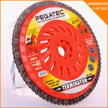 T27 60 grit abrasive products for abrasive reinforcment/plastic backing plate flap disc