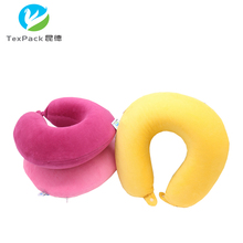 2016 memory foam functional as seen on TV travel rest neck pillows with carry bag