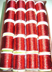 Fly Fishing Tackle Special Fly Tying Round Tinsel Shaded Red