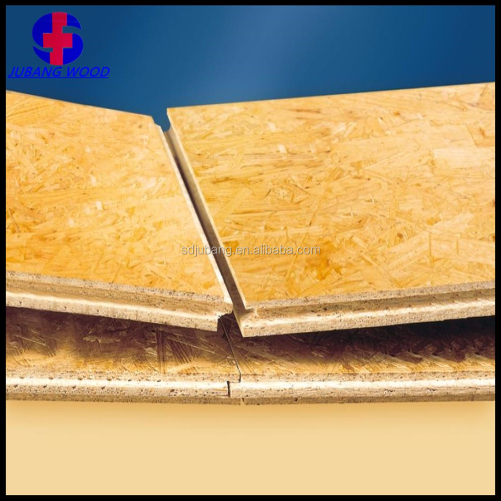 particle board JUANG OSB Sheathing price / OSB 18mm / OSB 2 Board from China