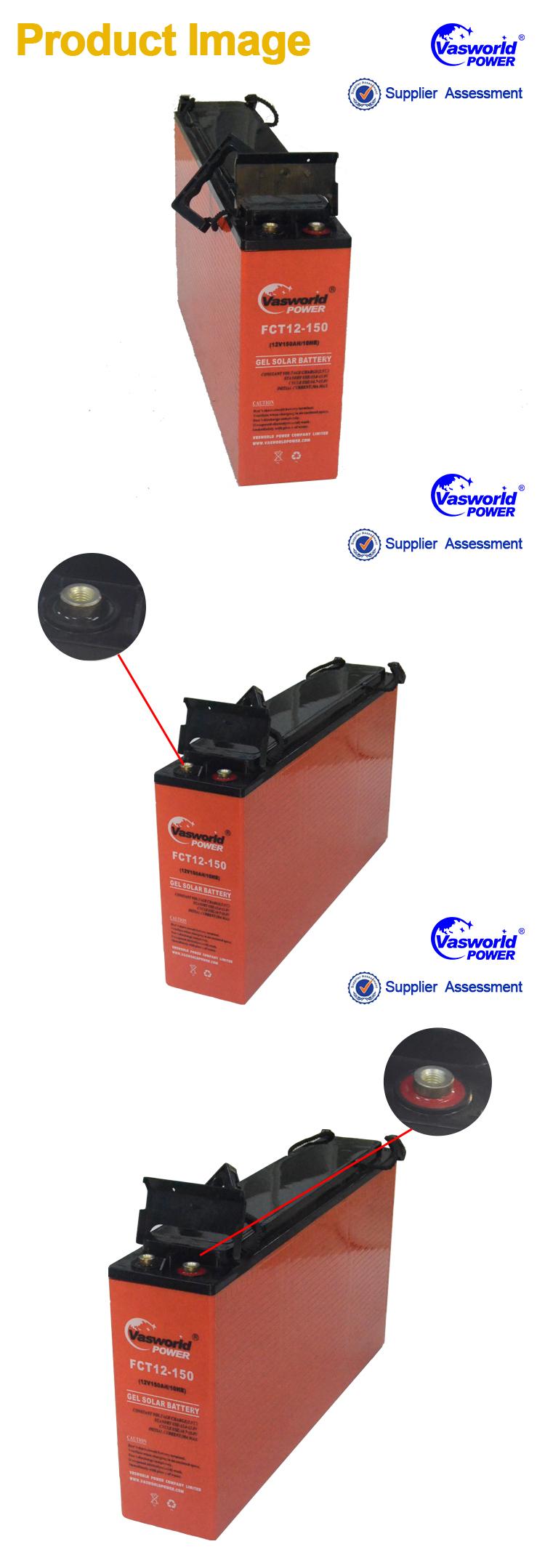 High Performance Solar Panel Battery 12v 180ah Battery