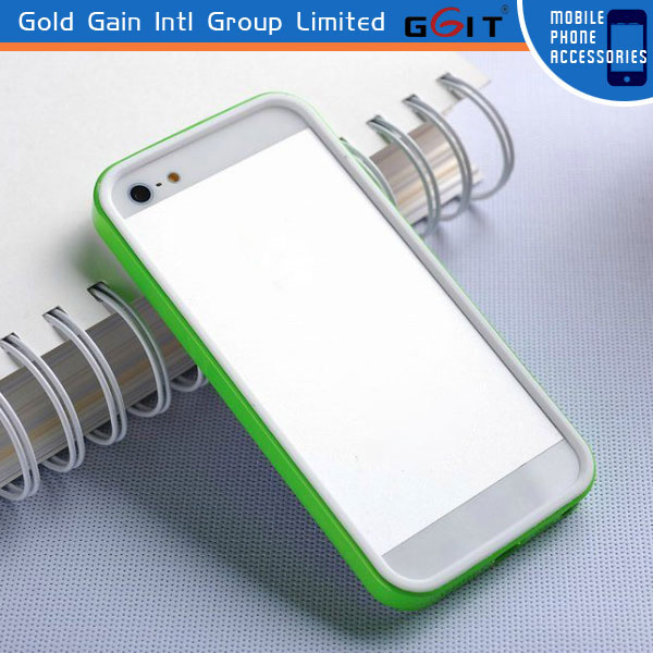 Luxury Ultra Thin Bumper Frame Case Cover for iPhone 5 5S