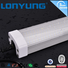 2016 top sale tri-proof price high bright energy efficiency led tube light IP65 best sale market approved