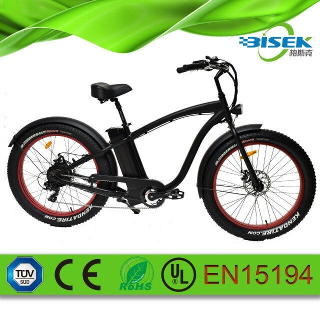e cycle fat tire 4.0inch 26'' fatboy electric bike for Spain market
