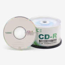 Blank CD-R 52X Factory Wholesale Recordable Silver CDR