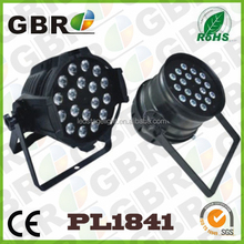 Club Par 64 DMX 18x10W 4 in 1 RGBW Lighting