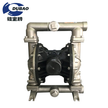 Self- priming Stainless Steel Pneumatic Diaphragm Air Operated Pump