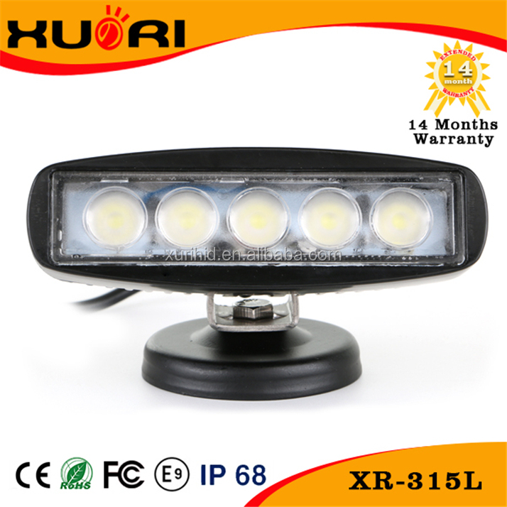 new product High Power 15w square led working light for Off road 15 w led work light work lamp