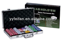 300 pcs poker chip dip set
