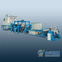 recycled pet plastic sheet machine