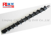 115mm Spiral drill pipe for Mining core drilling machine & rotary drilling rigs