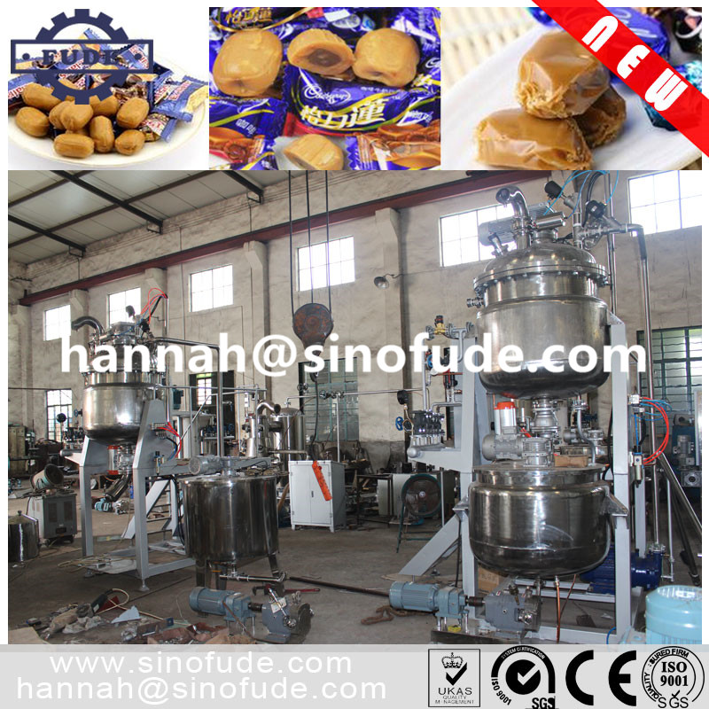 Toffee candy production line/ Toffee Candy Making Machine/candy machinery in shanghai