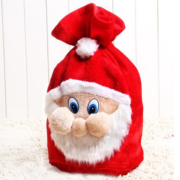 Newest Good Quality Santa Claus Gift Bags Wholesale