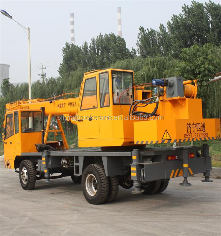 8 Ton Right Hand Drive Hydraulic Lift Truck Crane 10ton 12 ton Small Mobile Truck Crane for sale