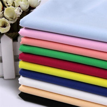 Factory direct sale 100% cotton fabric combed cotton solid color lining fabric in stock