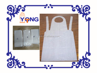 Polyethylene apron disposable