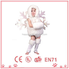 HI EN 71 children's snowflake christmas costume