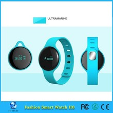 Bluetooth SmartWatch WristWatch Black H8 U Watch for LG for iPhone 5S for Samsung Galaxy S5 for HTC Android Phone