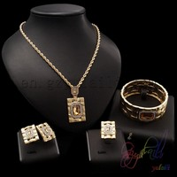 simple style jewelry set Ladies Costume Jewelry Sets indian antique gold jewellery designs