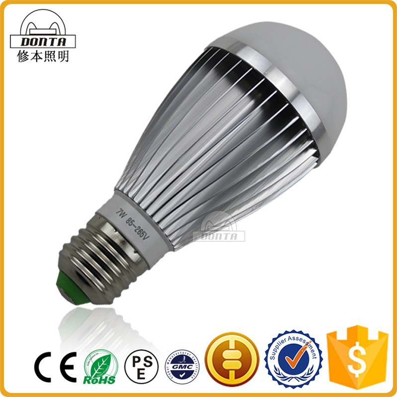 new style energy saving e27 7w led lighting bulb