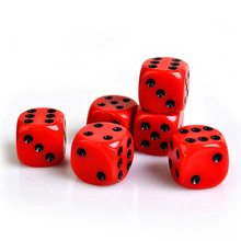 Good Quality Colored Custom Round Corner Engraved Game Dice