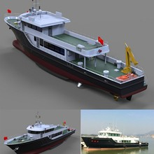 33.8m commercial fishing boat for sale/fiberglass fishing boat