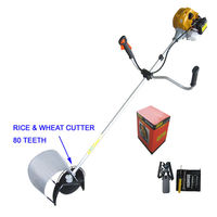43 cc small rice wheat brush cutter ce certified