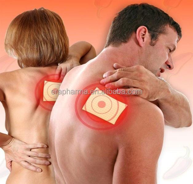 Перцовый пластырь при боли в шее