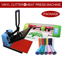 40X60 Small Cheap Used T Shirt Sticker Sublimation Digital Vinyl Transfer Printing Heat Press Machine