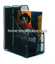 Metal mesh Magazine Holder clear document holder
