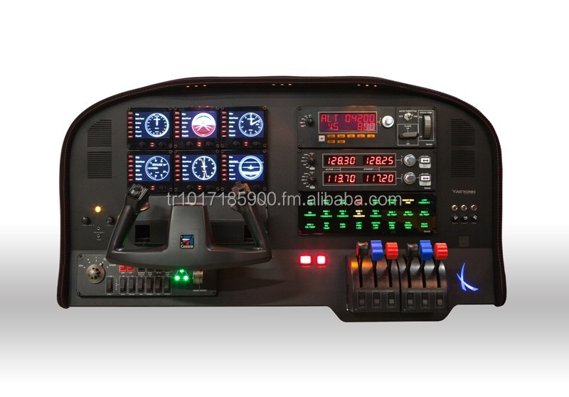 XTOP Pro Flight Panel for Home Simulator compatible with Saitek