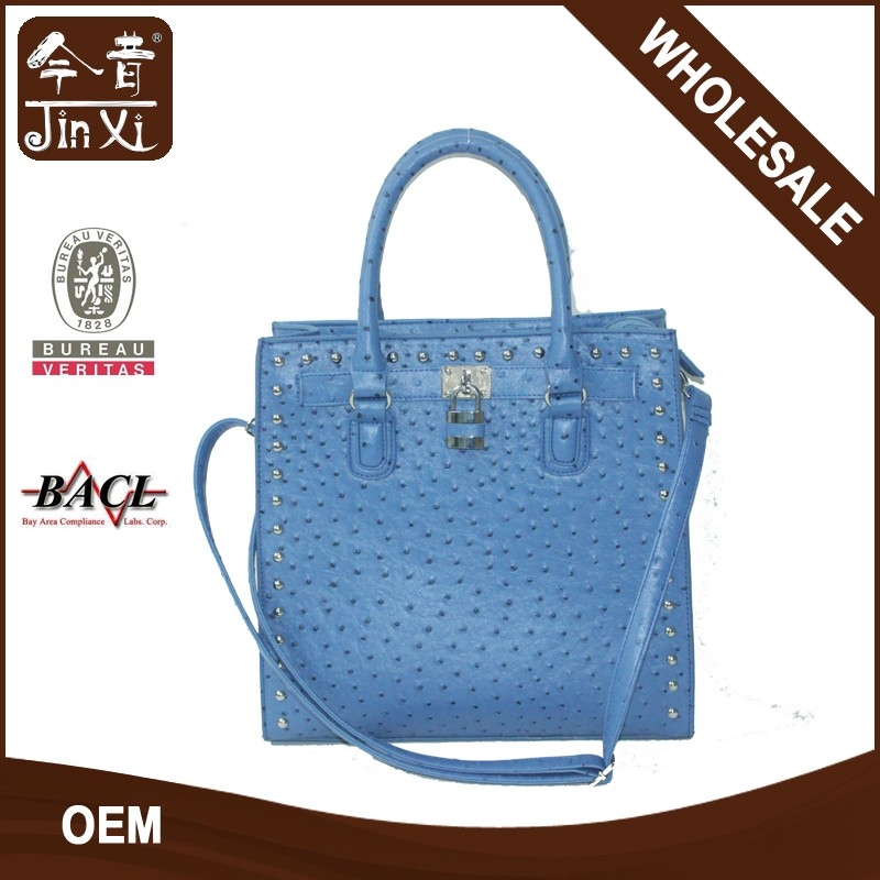 Fahion lock decorated handbags, fashion bags with rivet